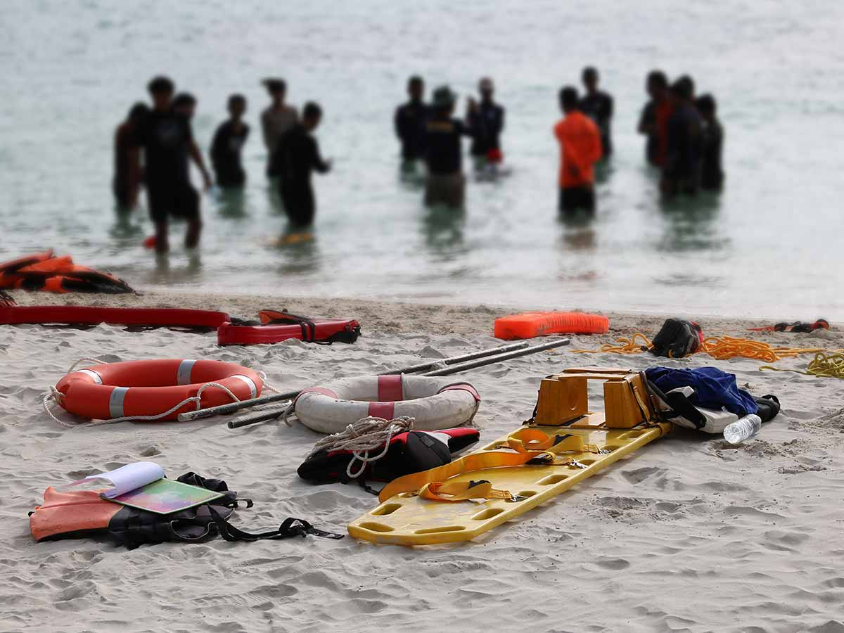 Rettungsschwimmer Berlin See
