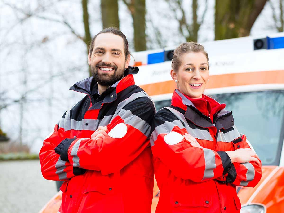 Sanitäter Berlin Rettungswagen