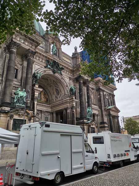 Filmsetabsicherung durch Set Medic in Berlin und Brandenburg